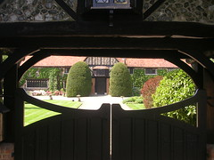 View through a toff's gate