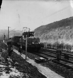 Déraillement à Lutzelbourg 1957