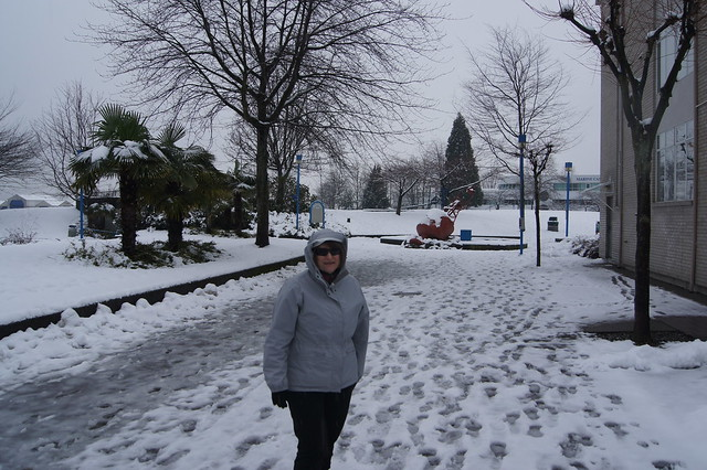 Snow walk in Lonsdale, Sony SLT-A33, Sony DT 18-55mm F3.5-5.6 SAM (SAL1855)