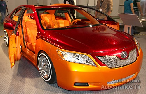 very orange modified car the best cars collections. Black Bedroom Furniture Sets. Home Design Ideas