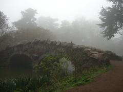 Stone Bridge, Dense Fog