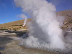 geyser, spring,