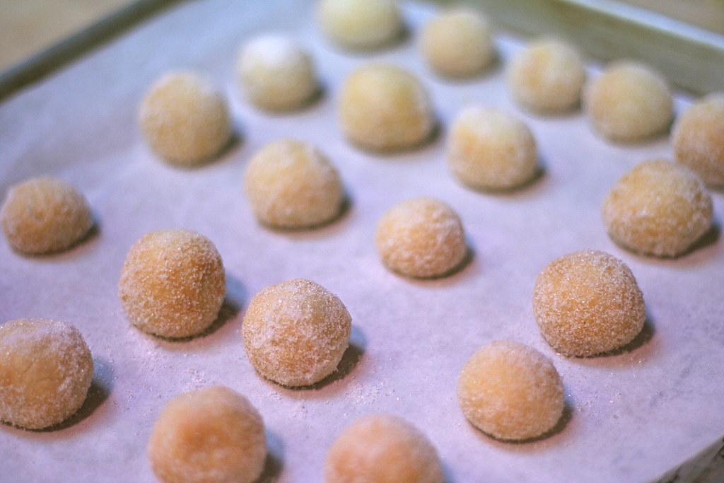 Cherry Almond Snowballs Jennifer Flickr