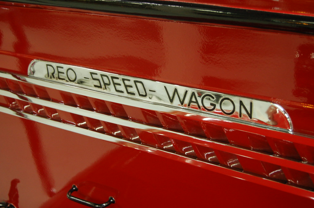 1938 REO Speedwagon Fire Truck  103 N