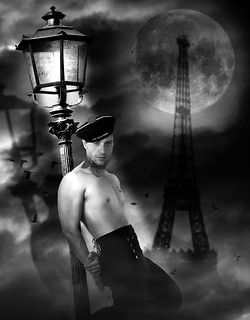 Gay Paris bw