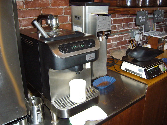 Clover Coffee Maker For Home : Stumptown Annex - Clover coffee maker Flickr - Photo Sharing!