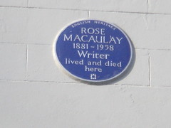 Photo of Rose Macaulay blue plaque