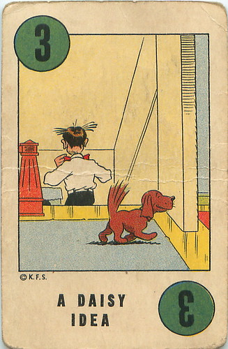 1941 Blondie Comic Playing Card