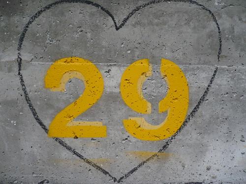 <3 29