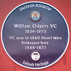 Photo of William Odgers blue plaque