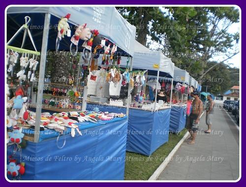 Feira de artesanato em Garopaba SC by ♥ Mimos de Feltro by Angela Mary® ♥