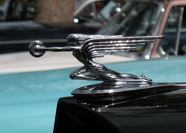 1930s Packard Art Deco Hood Ornament Flickr Photo Sharing