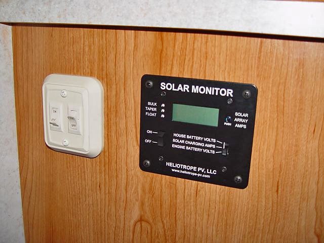 Rv Battery Monitor System : Rv travels with huggy our rvs solar system