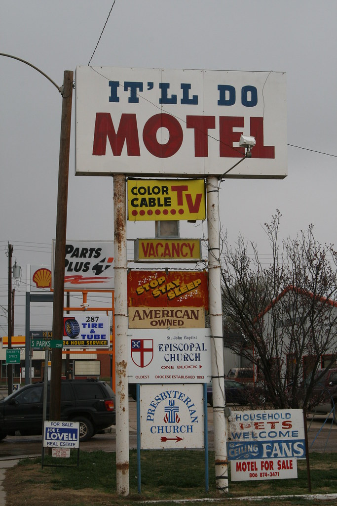 Motel  On Beach Street Fort Worth Texas