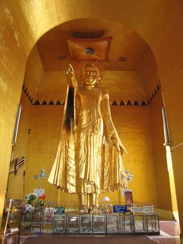 Standing Buddha - Mandalay, Myanmar (Burma)