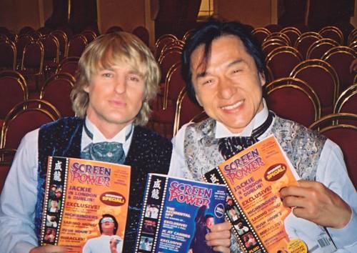 Jackie Chan and Owen W...