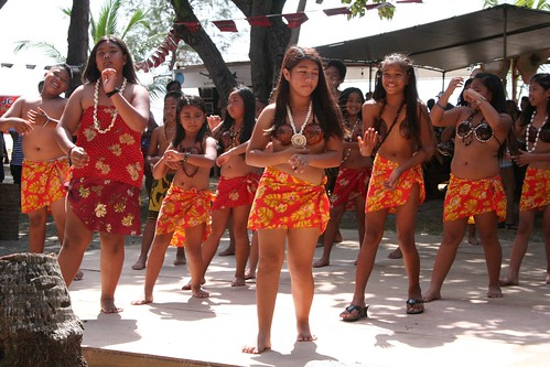 Tinian cultural dancers