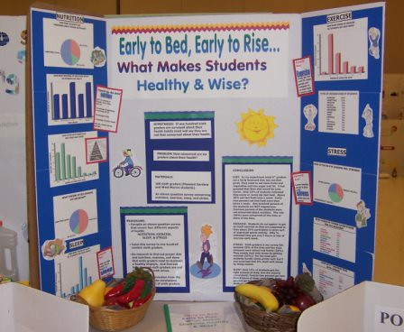 science fair project experiments