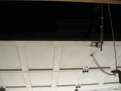 oben Garagentors storage