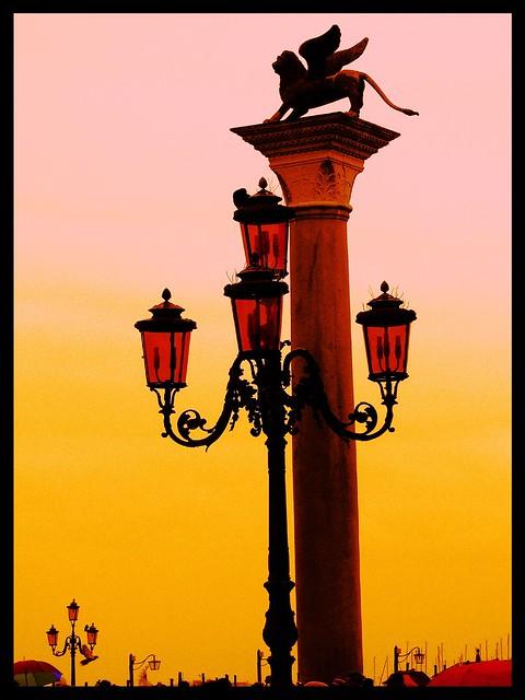 Lampione Venezia Tramonto