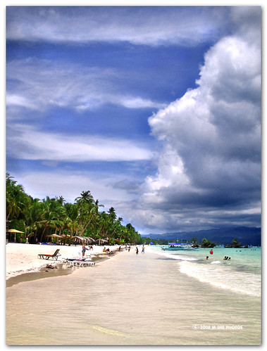 blue trees sea sky beach clouds canon philippines 2006 ixus mdee western manila boracay 2008 visayas aklan panay platinumphoto colorphotoaward mdeephotos howboutaswim