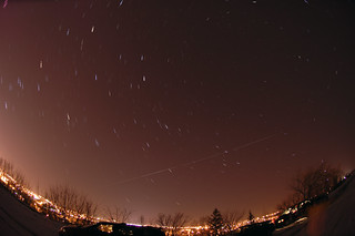 ISS with star trails | by Computer Science Geek