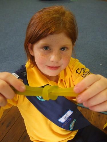 McKenzie's snake reef knot