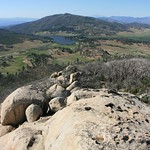 View from the summit of Stonewall Peak.  Cuyamaca Rancho State Park