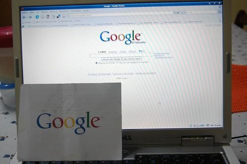 Google en la Web y en Papel :D