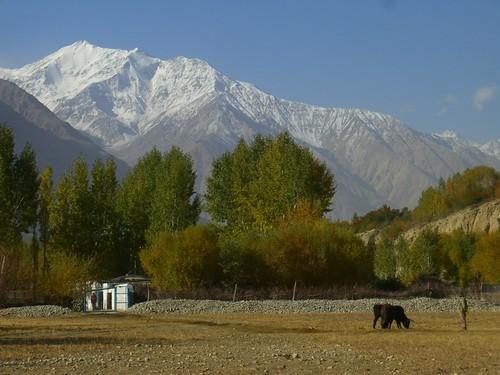 autumn mountains tajikistan centralasia dpn pamirs langar badakhshan wakhanvalley