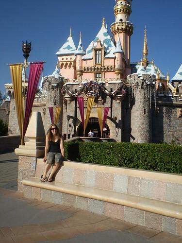 Toni at Disneyland