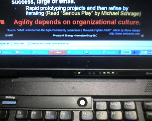 Hey Libraries: Agility depends on organizational culture
