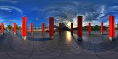 Sixteen columns