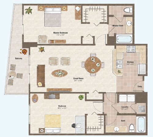 Luxor Casino Property Map & Floor Plans - Las Vegas