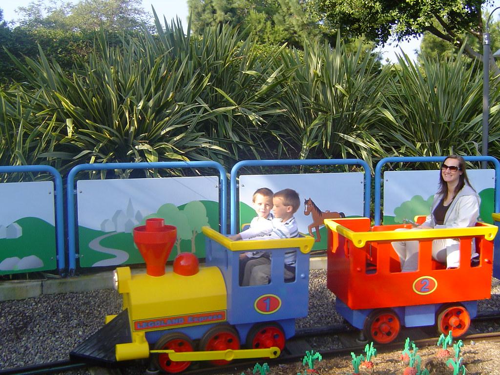 legoland little train