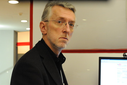 Jeff Jarvis, famous blogger of Buzzmachine