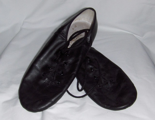 Jazz Shoes Black Ebay