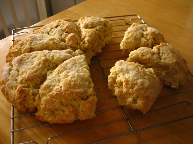 scottish oatmeal scones | Flickr - Photo Sharing!