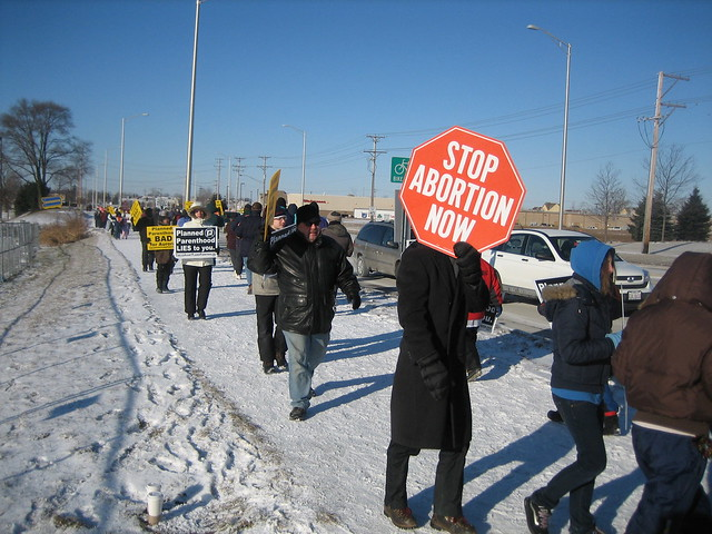 2008-01-19 Monthly Protest and Pro-Life Seminar