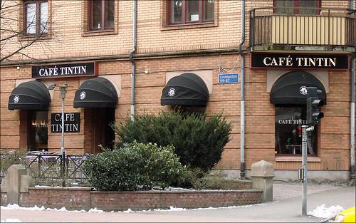 Literary café