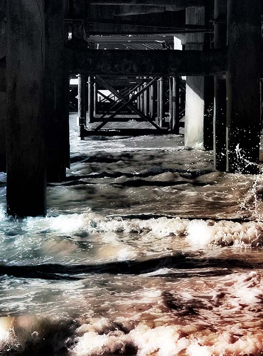Photography - South Pier by Nicholas M Vivian