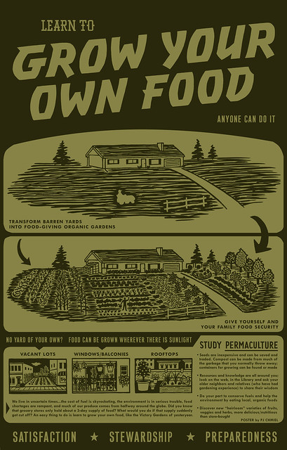 Grow your own food poster flickr photo sharing for World of war craft com