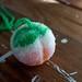 Peach Pom Pom by helloyarn