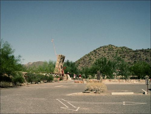 Taliesin West, View from Parking Lot by Juli Kearns (Idyllopus)