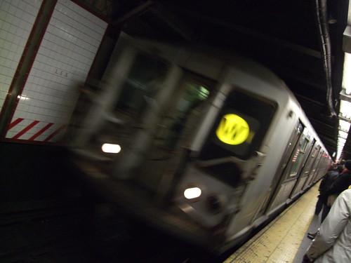 The W Train (RIP)