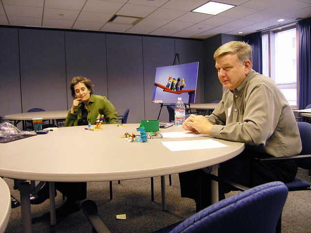 LEGO Serious Play workshop at WSO, Dec. 2004