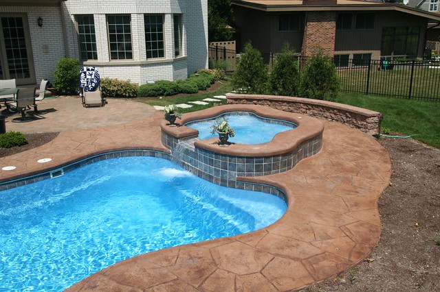 Composite pools lexington pool alexandria spa in ground fiberglass pools chicago illinois Swimming pools in alexandria va