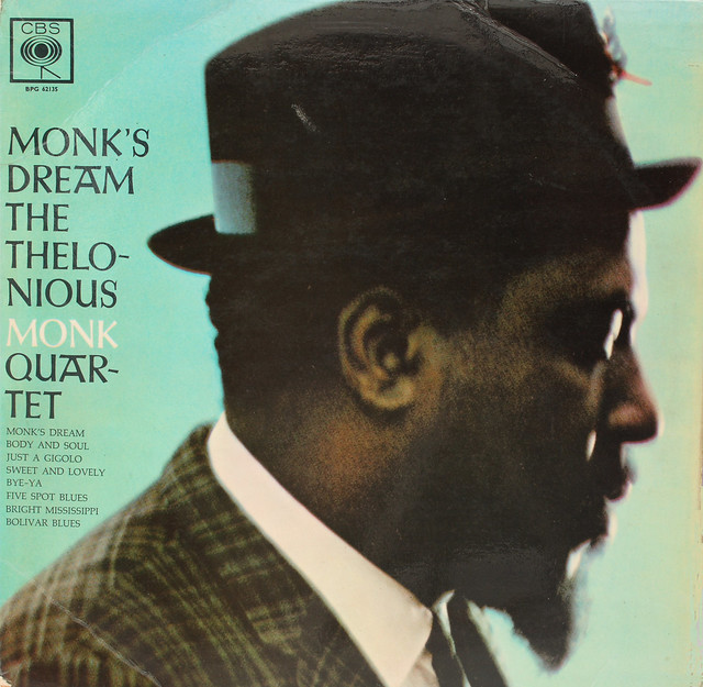 thelonious monk - monk's dream (sleeve art)