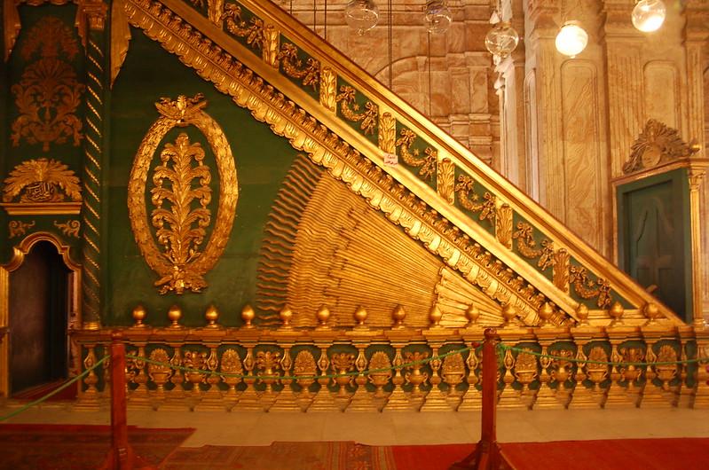 Art-Nouveau Minbar of the Mosque of Muhammad Ali Pasha, Cairo Citadel