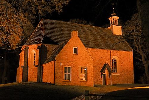 Kerkje in Sellingen (Gr.)